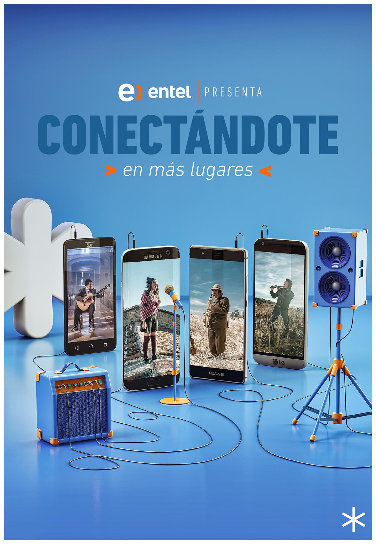 coverage 4g telecomunications Video Call Advertising  entel Film   documental