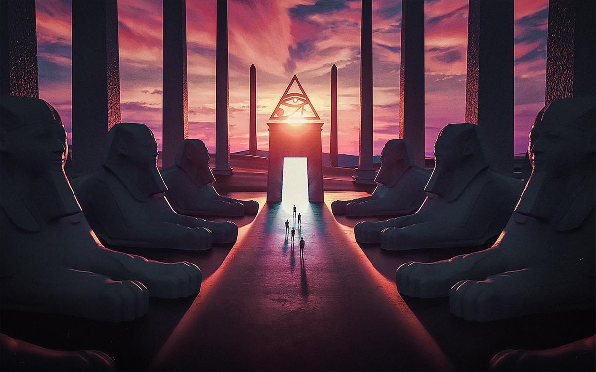 3D dark egypt photomanipulation photoshop Ps25Under25 surreal adobe music Sci Fi