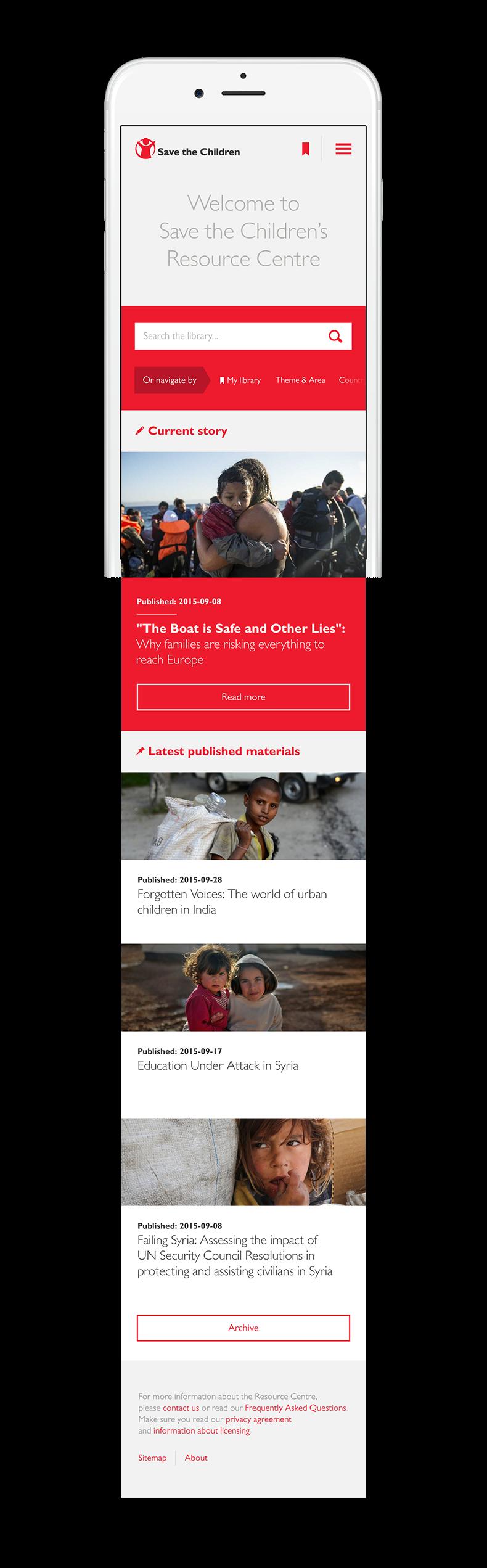save the children refugee resource center press resource