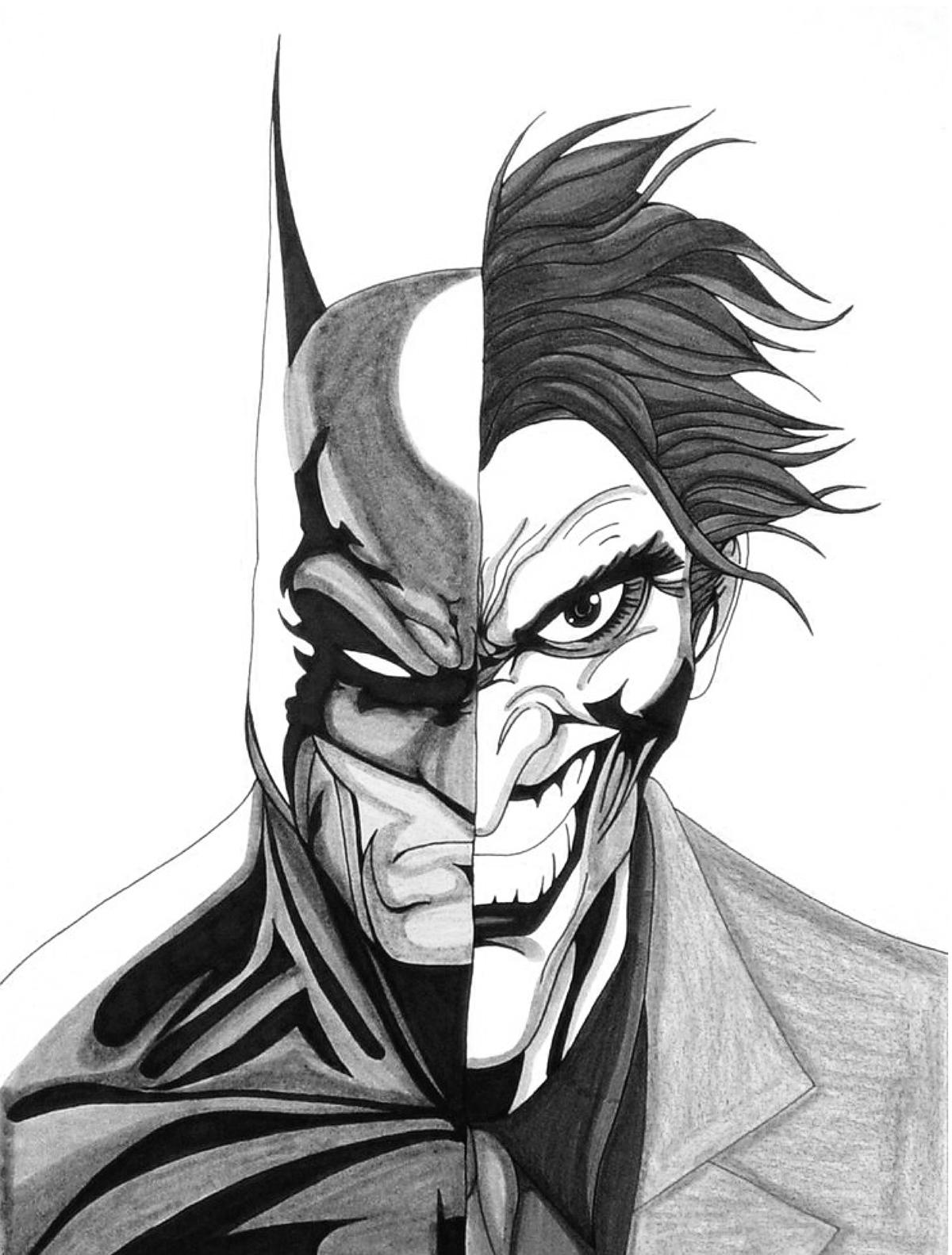 Batman Amp Joker On Behance