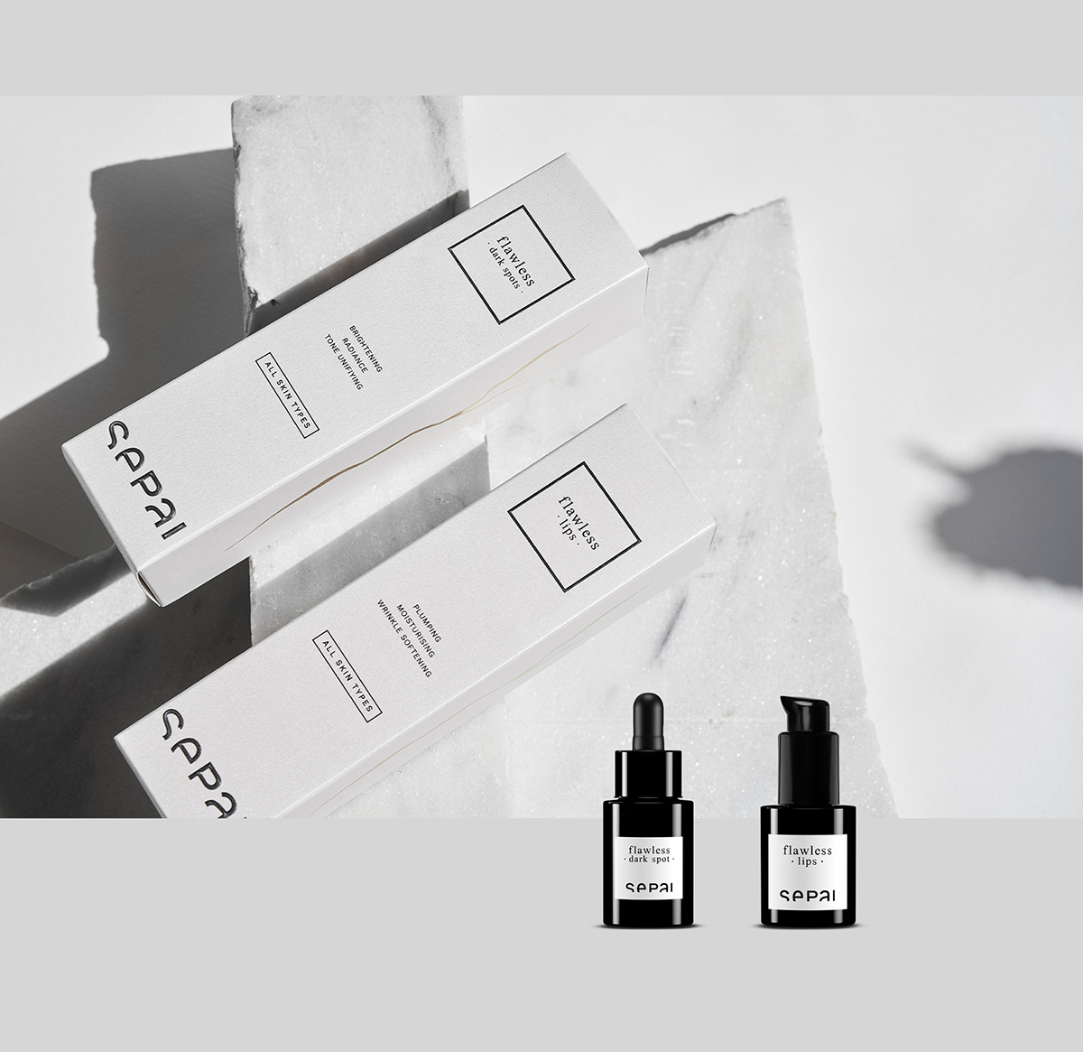 brand branding  Cosmetic design graphic design  luxury minimal Packaging Photography  product