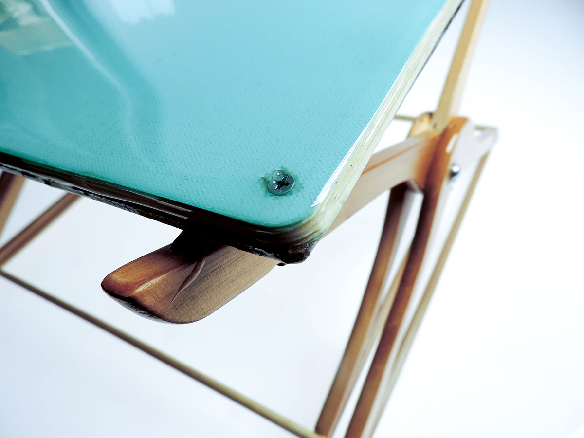Recycled Floor Desk on RISD Portfolios