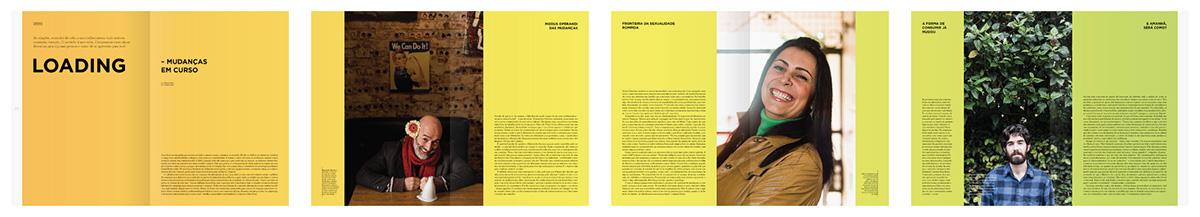 magazine editorial print Curitiba Brazil art culture people