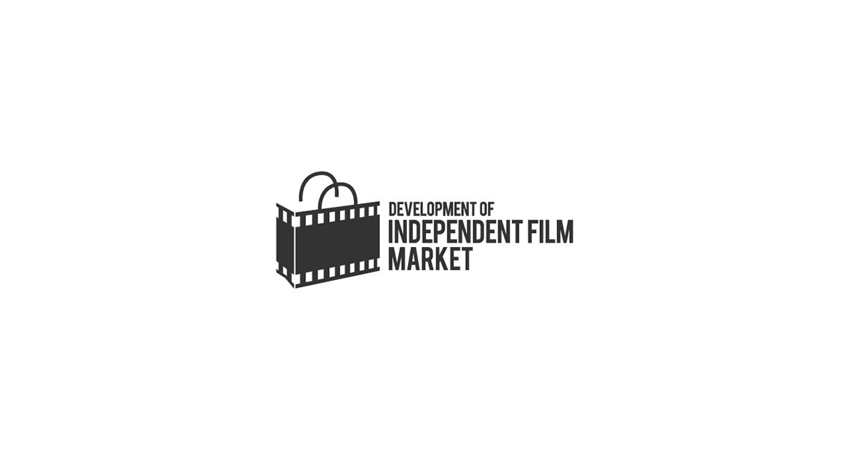 logo branding  graphic design Startup Film   festival pop geometric indonesia
