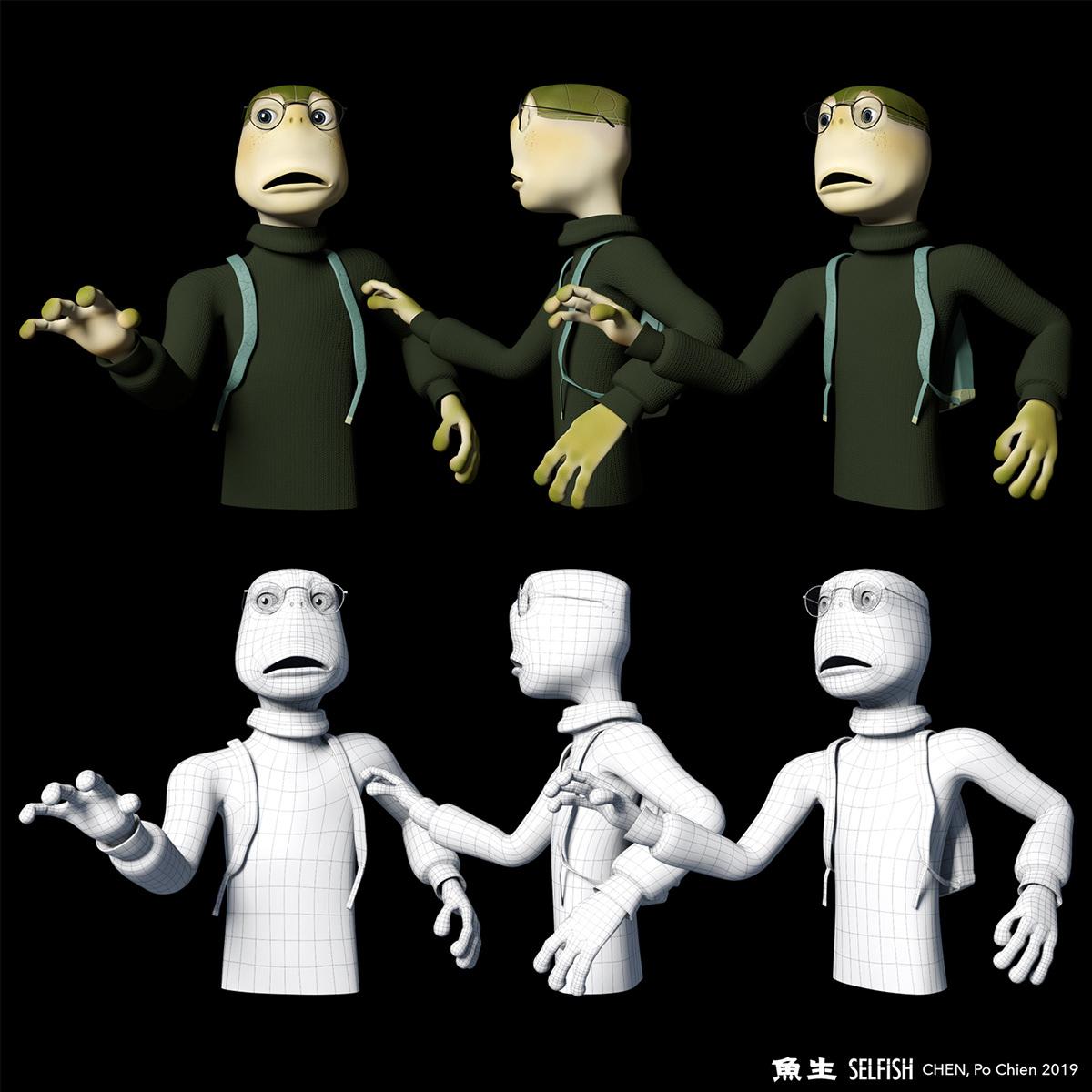 Computeranimation animation  Character design  look development rigging