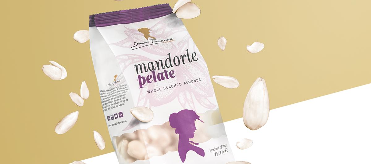 almond Mandorle Packaging Italian food super food