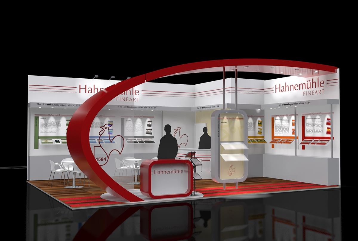 Hahnemühle booth design Photokina
