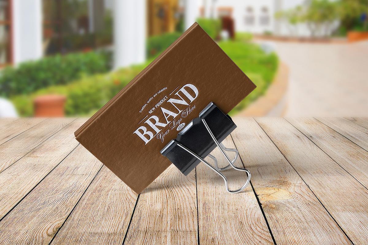 Download 8 Realistic Business Card Mockups on Behance Free Mockups