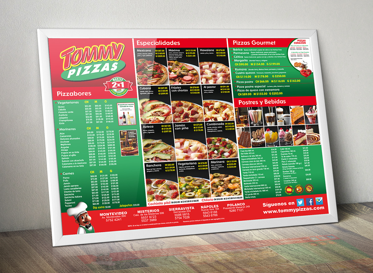 Permalink to Tommys Restaurant Menu