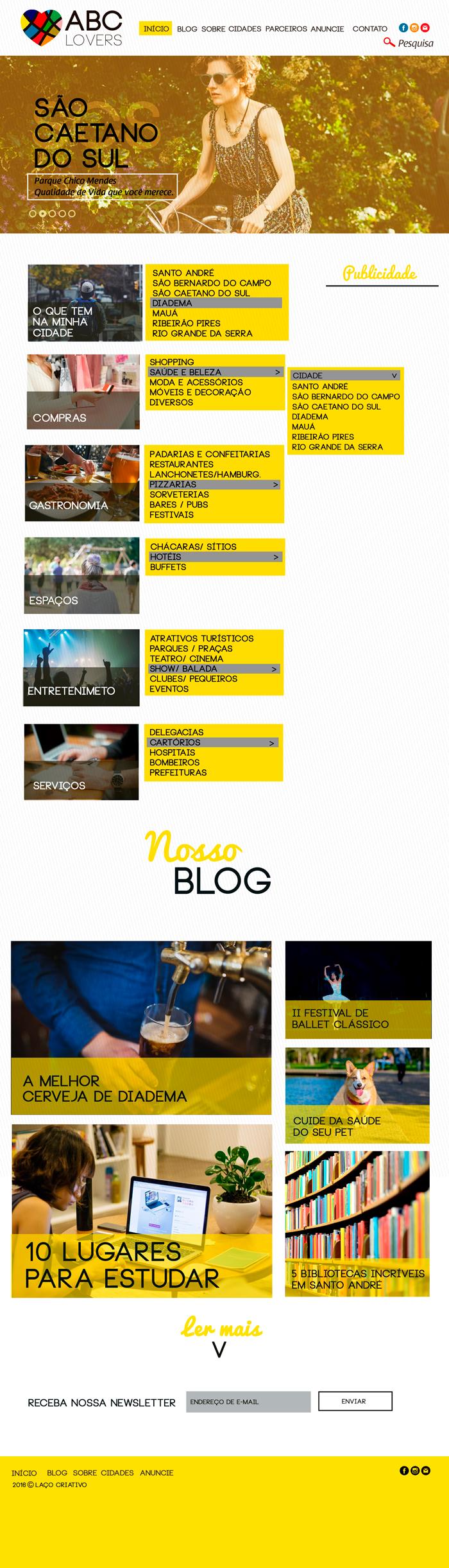 site design gráfico