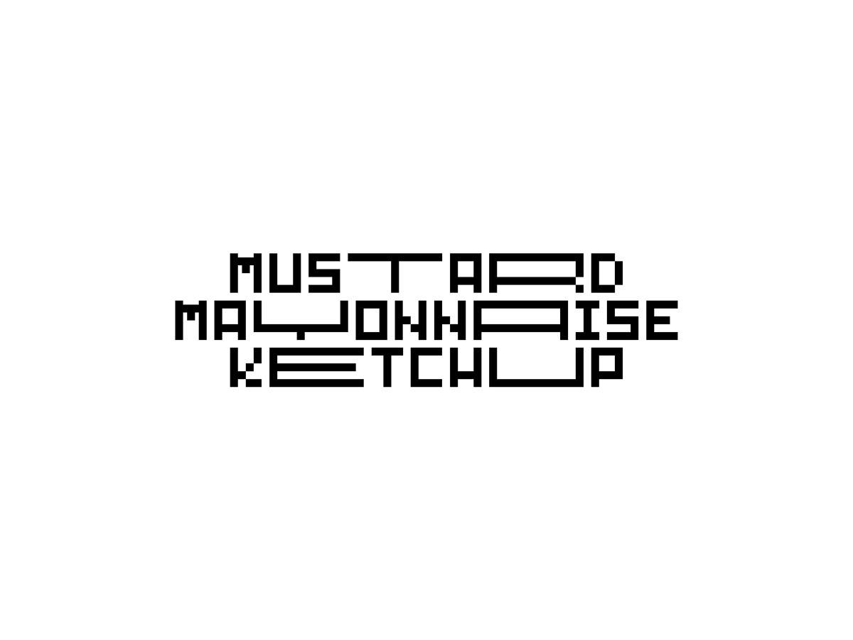 New typeface design