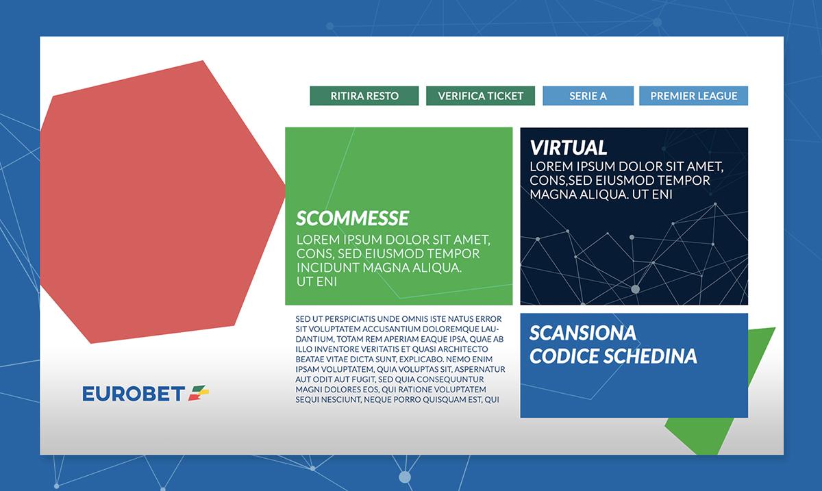 Filippo Maniscalco Rome betting roma UI UX design concept design