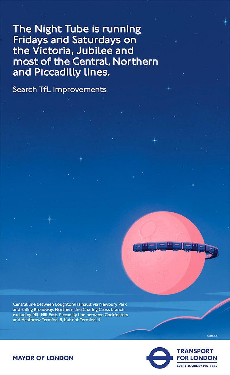 TFL Poster on Behance