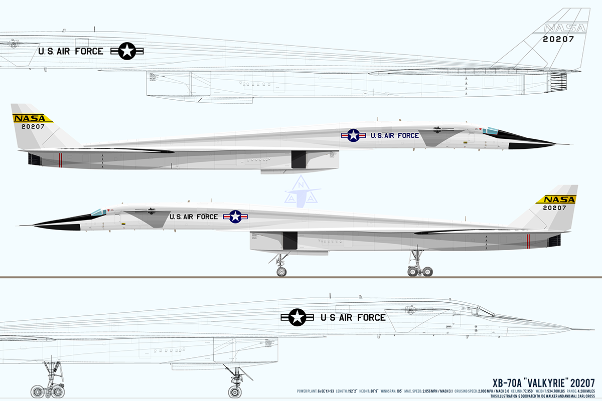 220 Ber Detail Xb 70a Valkyrie 20207 Illustration On Risd