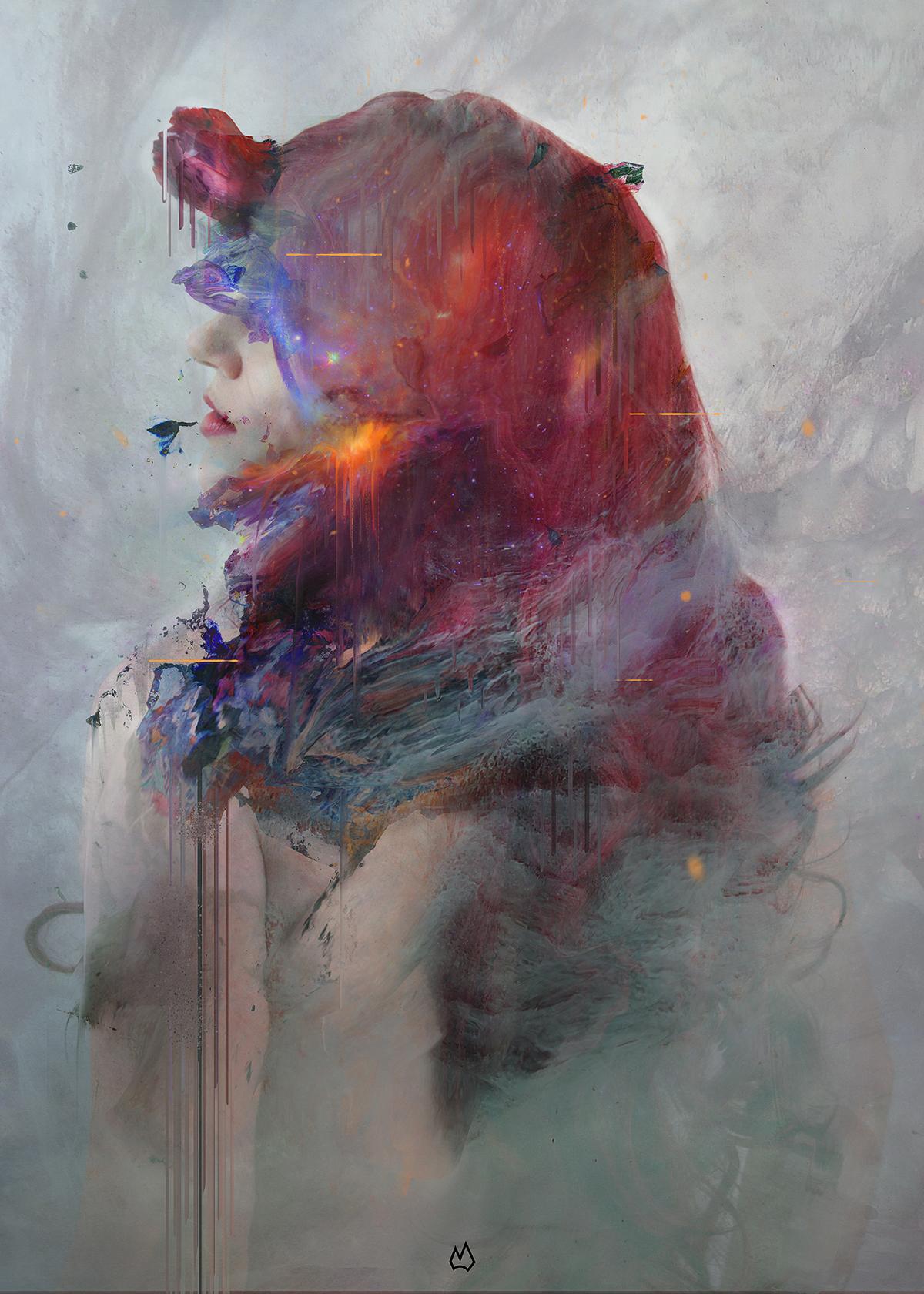 evolve art egypt digital Exhibition  piece artwork