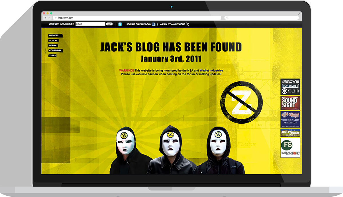 political politics protest websites