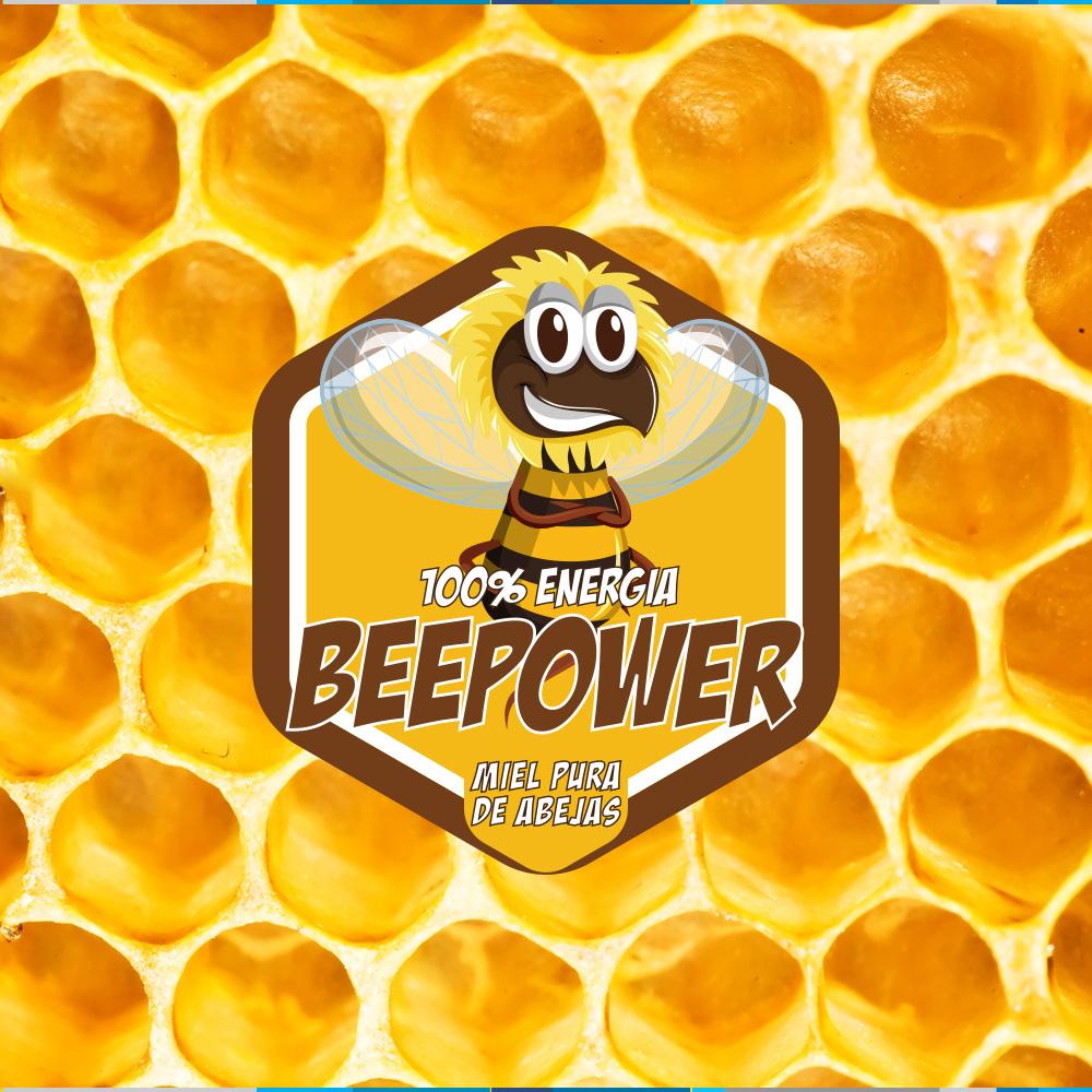 branding  diseño gráfico graphic design  honey logo marca mark Packaging