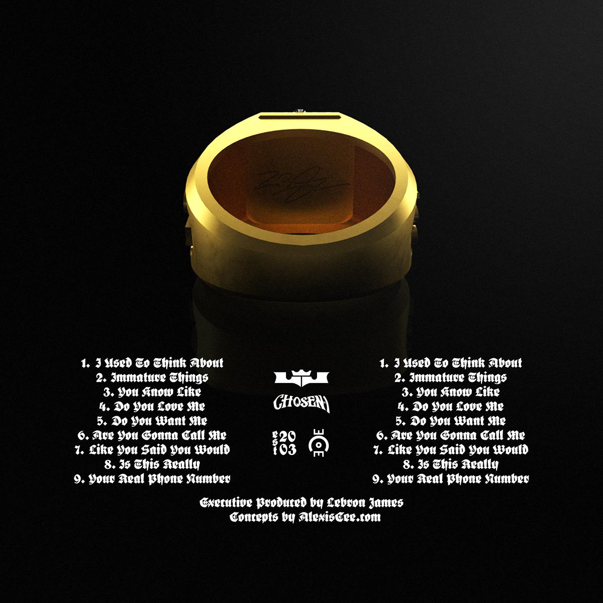 2chainz album concept Chosen 1 king james LeBron James NBA Nike ohio