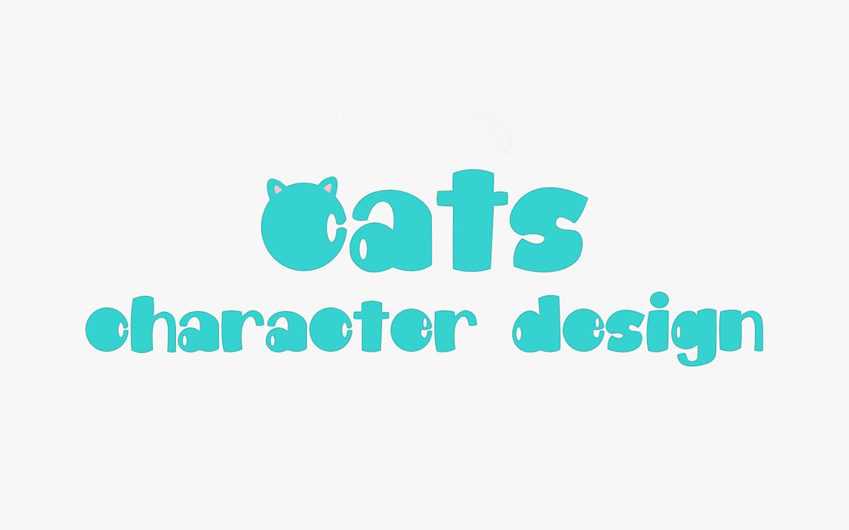 Character Character design  sketch cartoon animation  Cat art pets ILLUSTRATION