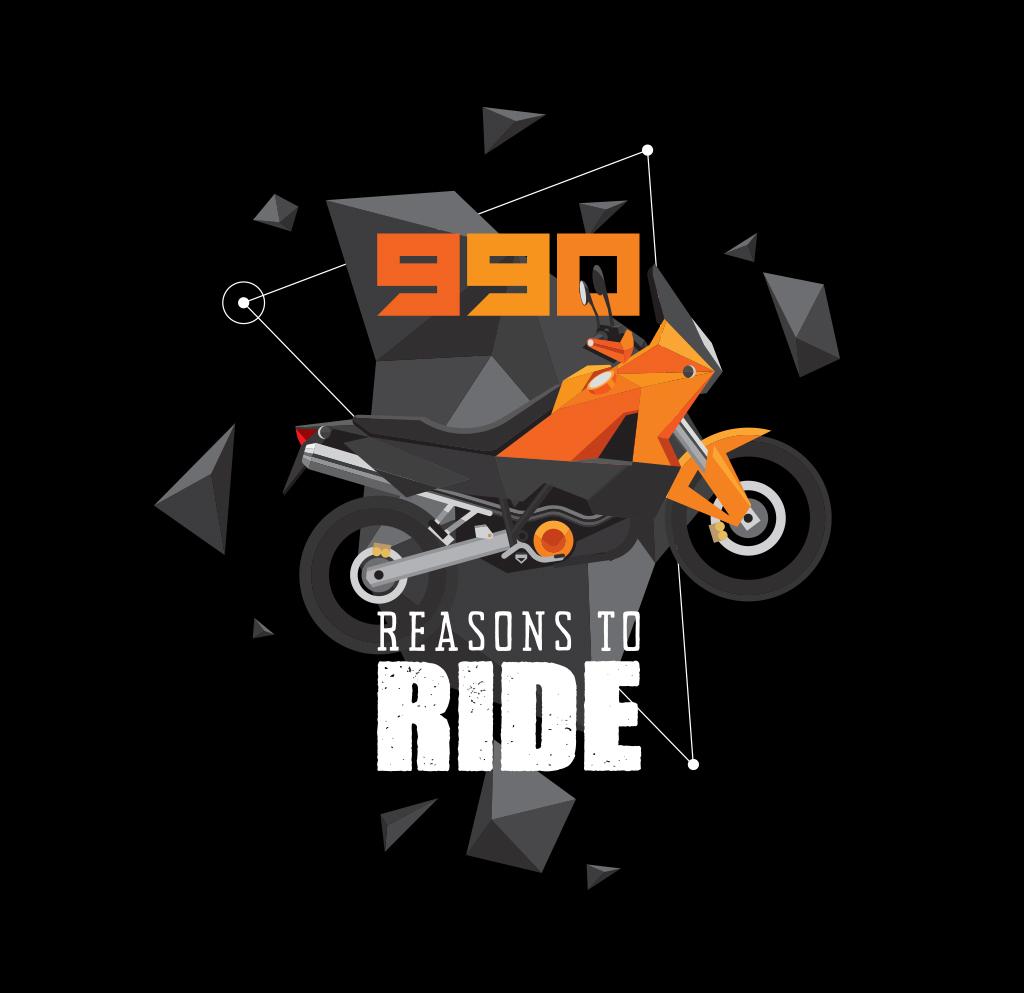 9e2da92320bb KTM 990 Adventure t-shirts on Behance