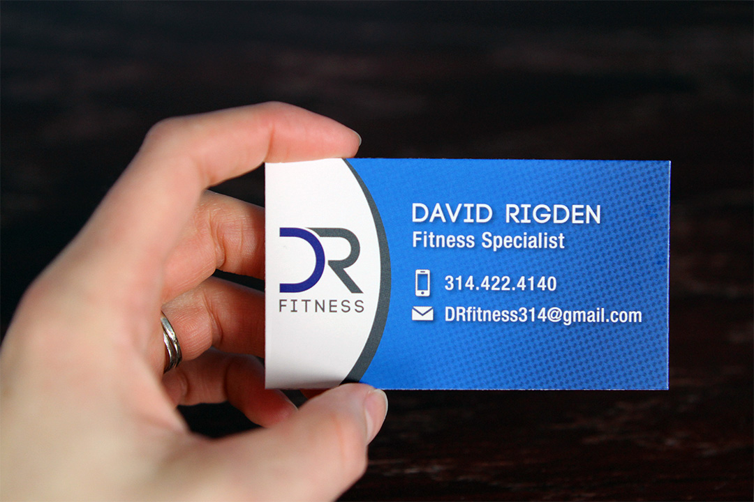 Personal Trainer Business Card and Logo on Behance