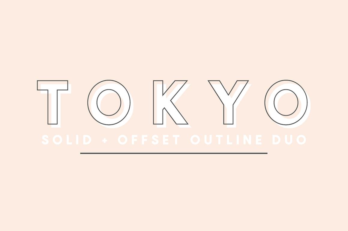 Tokyo | A Designer Font Duo on Behance