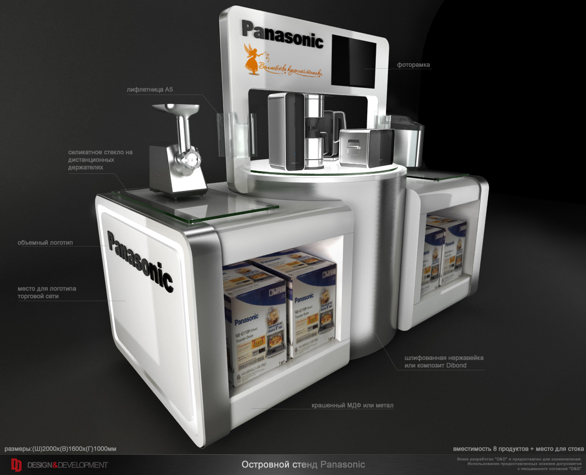 Panasonic Kitchen POS On Behance