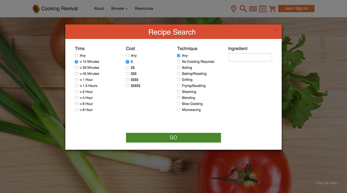 cooking recipe Food  Website healthy eating
