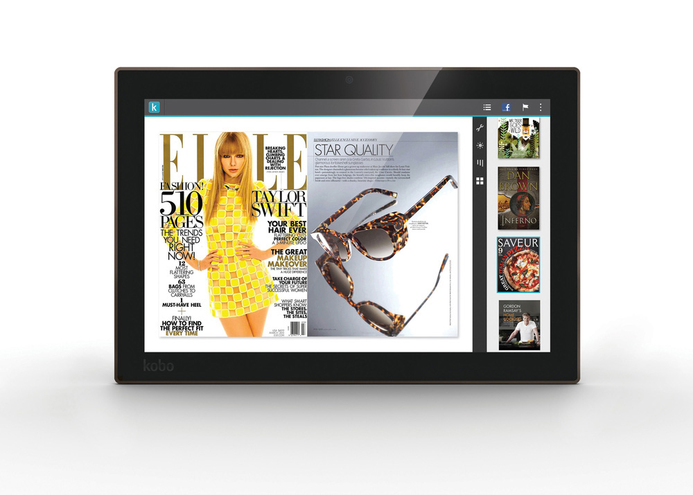 Kobo tablet device Technology family mobile