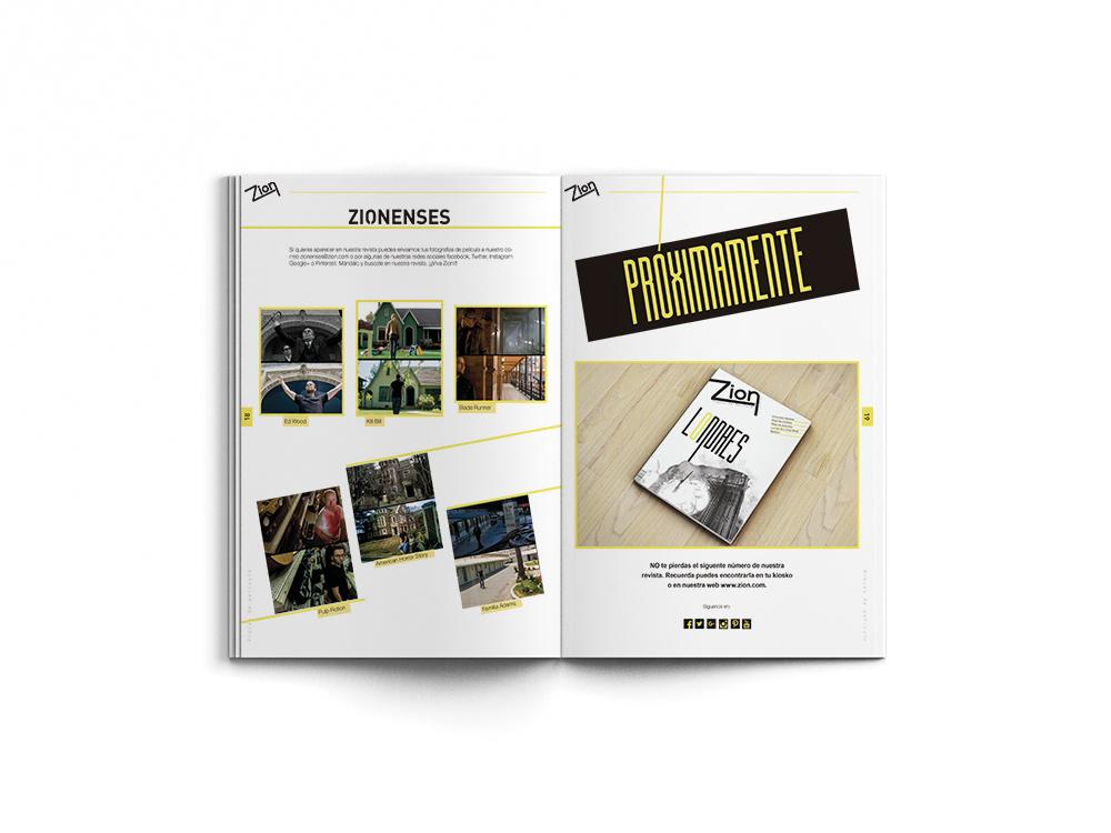 zion revista magazine viajes peliculas design Travel turist Turismo