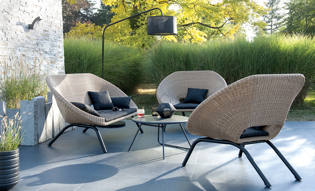 loa outdoor furniture for blooma on behance. Black Bedroom Furniture Sets. Home Design Ideas