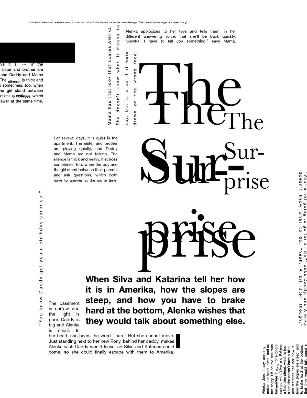 The Surprise–Story Poster on Behance