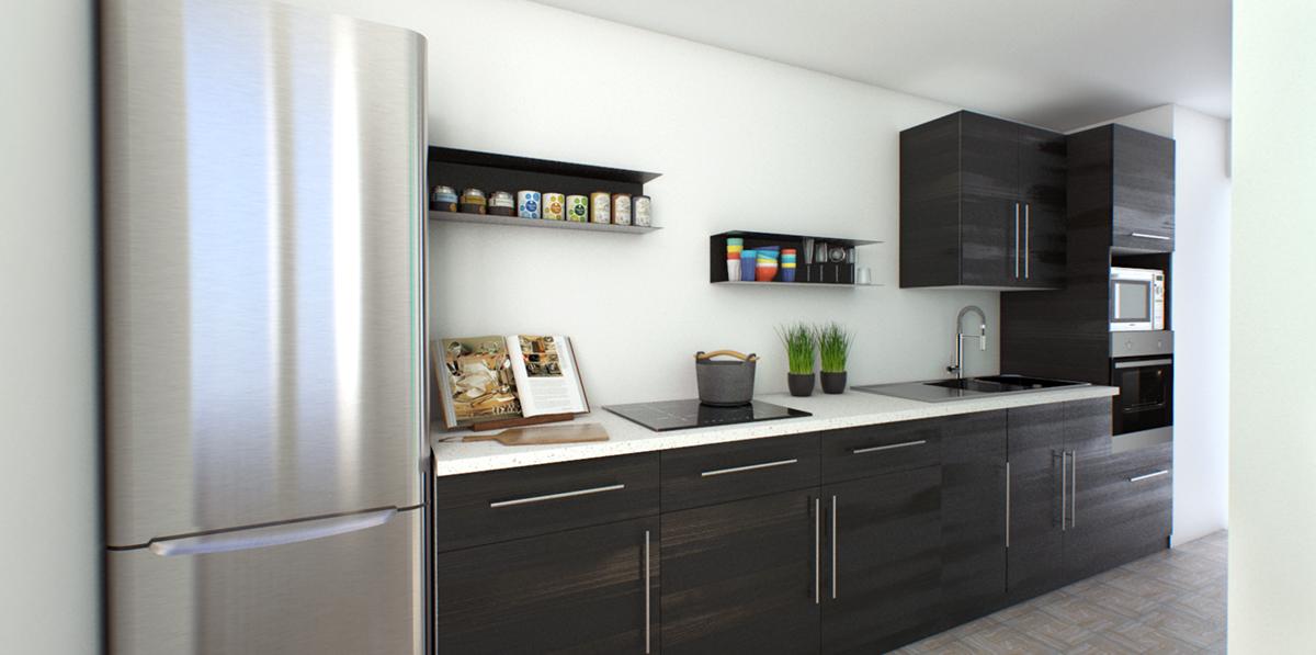 Kitchen ikea on behance - Module cuisine ikea ...