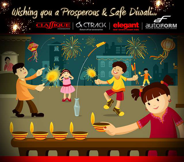 Diwali e greeting card on behance diwali e greeting card production house web animation studio m4hsunfo Image collections