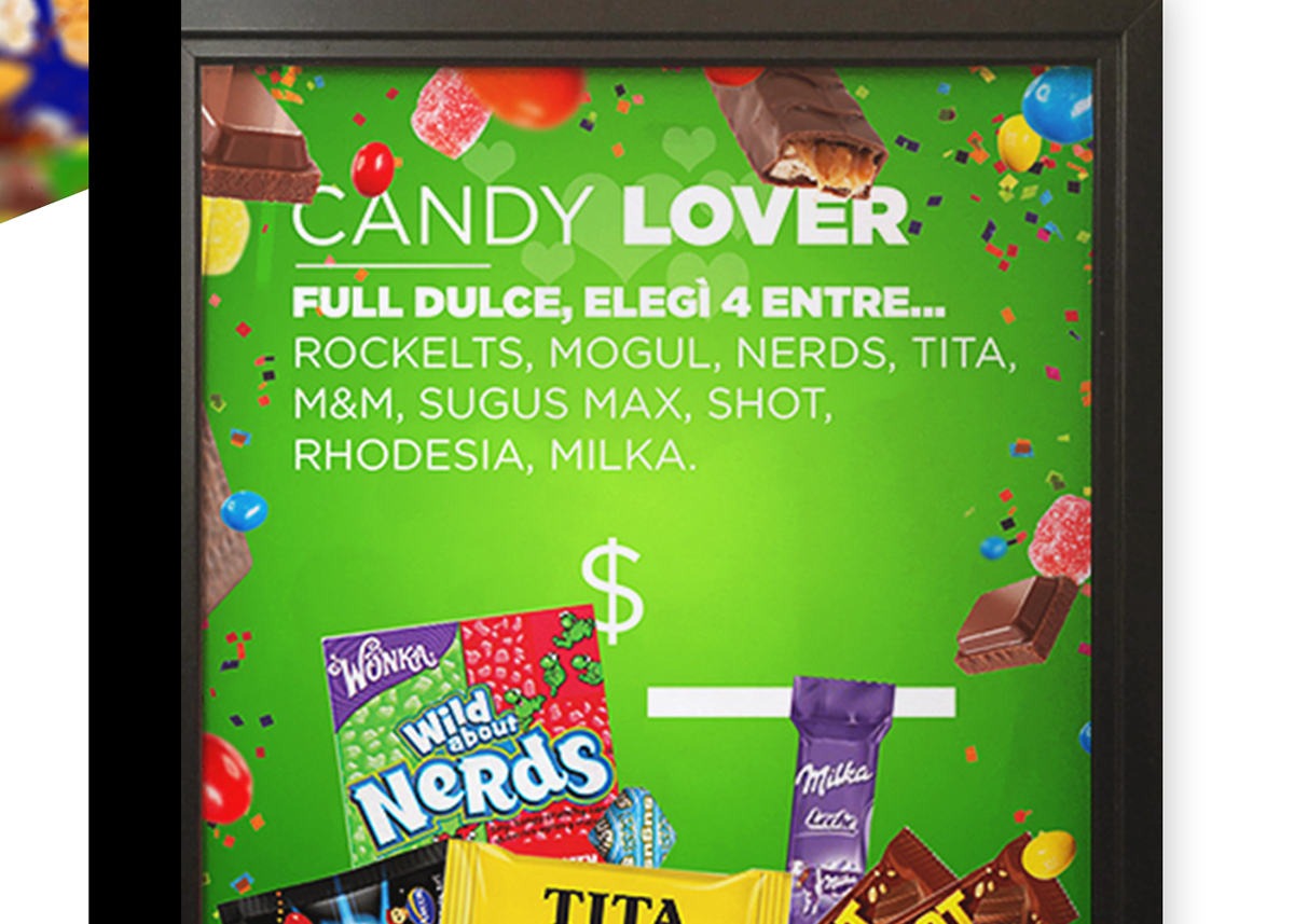 Cinemark Candys Rebrand Advertising Graphic Design Art Direction