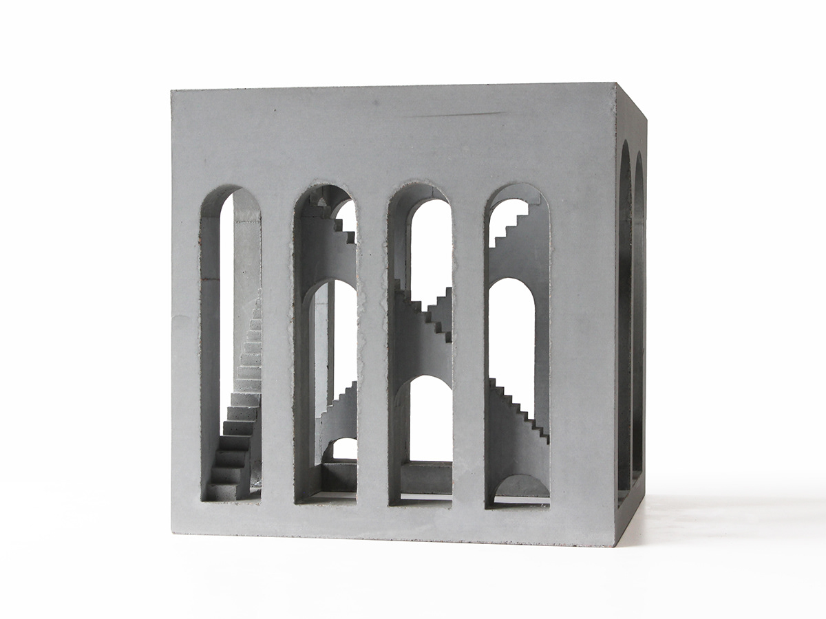 architecture beton Brutalism Brutalist cast cement concrete escher Staircase stairs