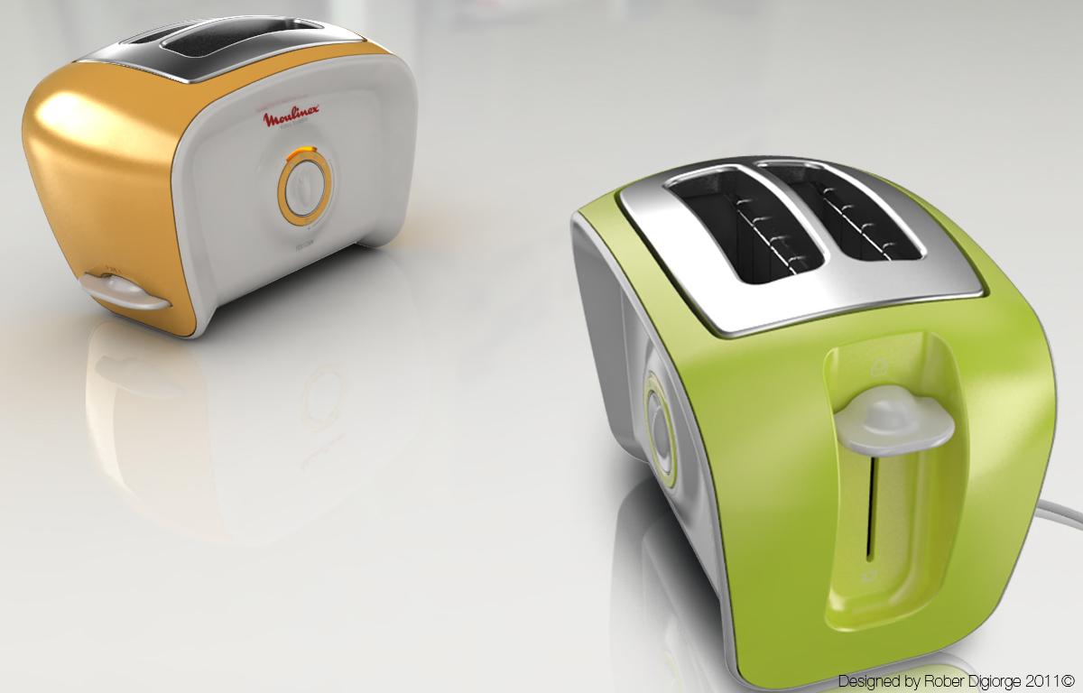 designer toaster put a smile on your toast yanko design. Black Bedroom Furniture Sets. Home Design Ideas