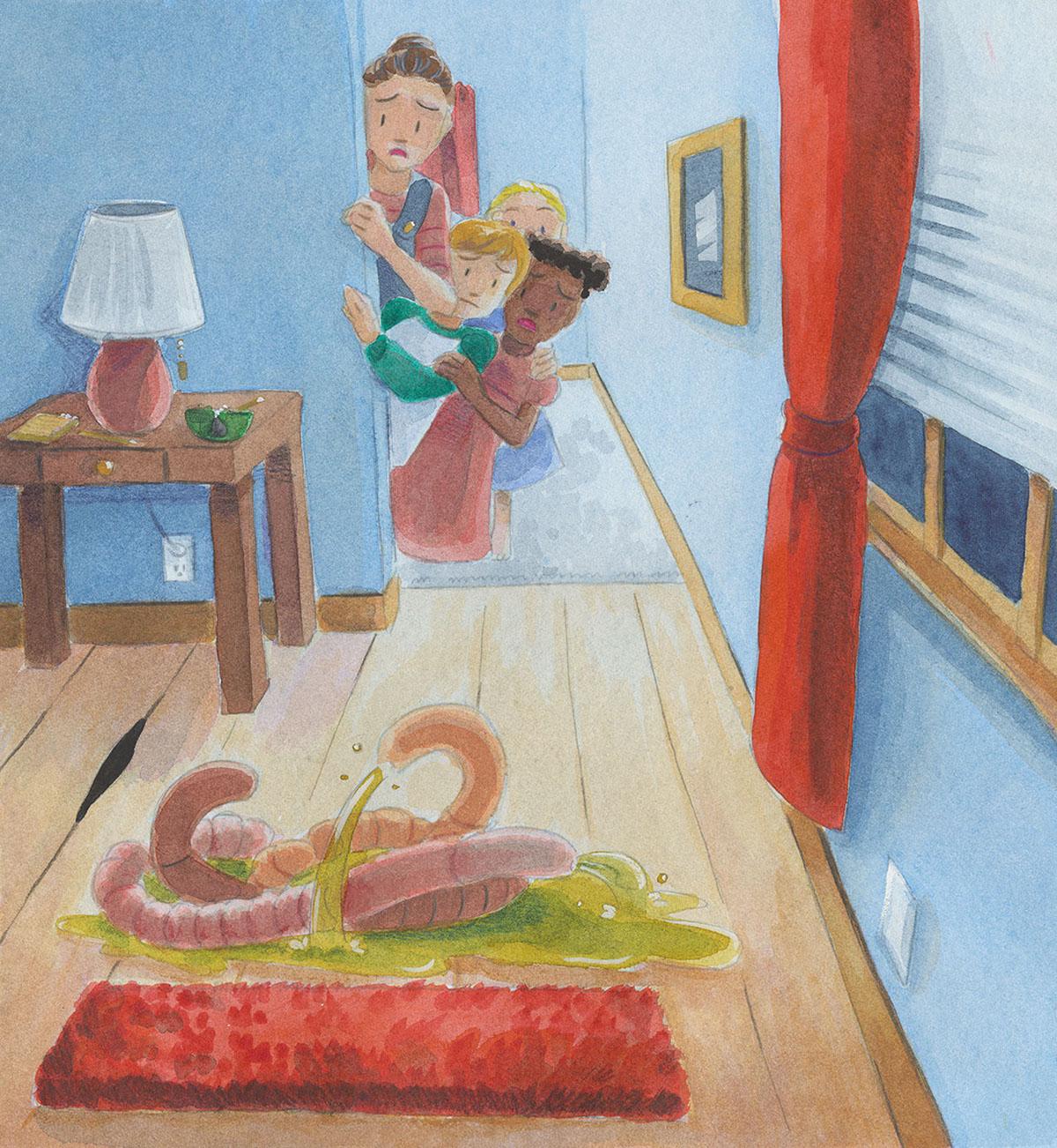 watercolo children's book children's book illustration
