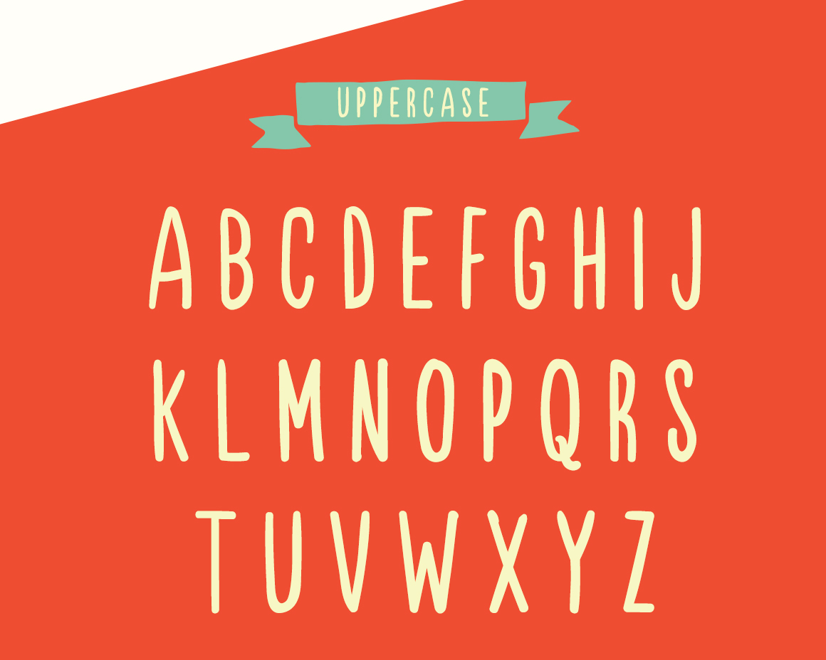Sunshine A Fun Bold And Bouncy Hand Drawn Typeface That Will Bring The Back Into Your Design Work