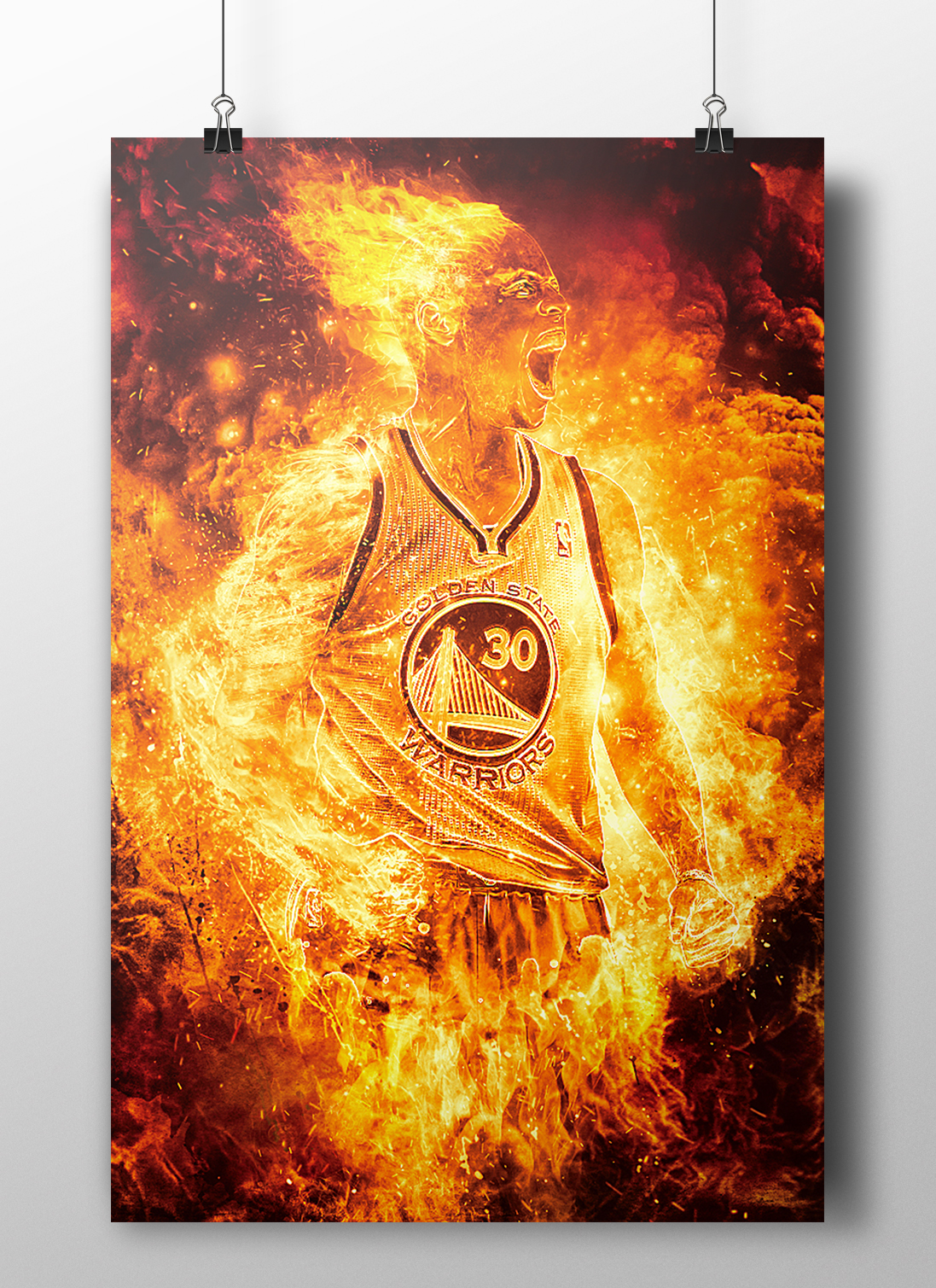 Steph Curry - Human Torch on Behance