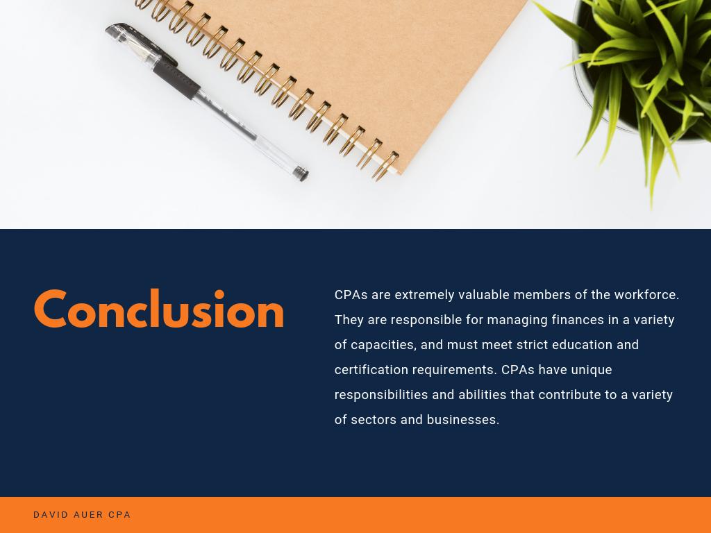 David Auer CPA cpa accounting branding  finance