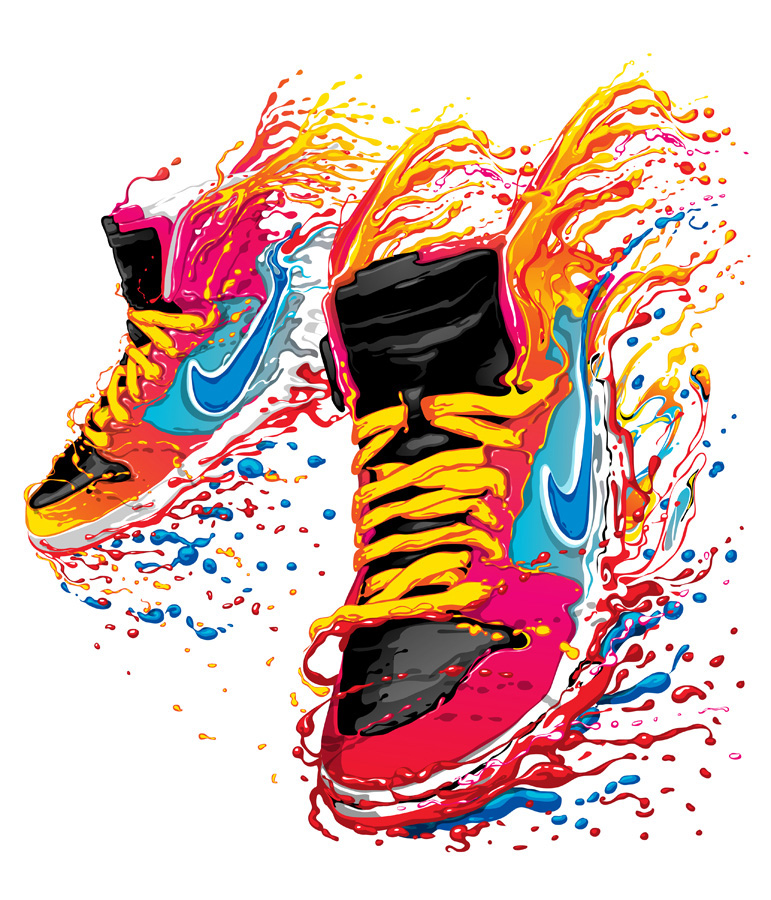 Nike designs on Behance