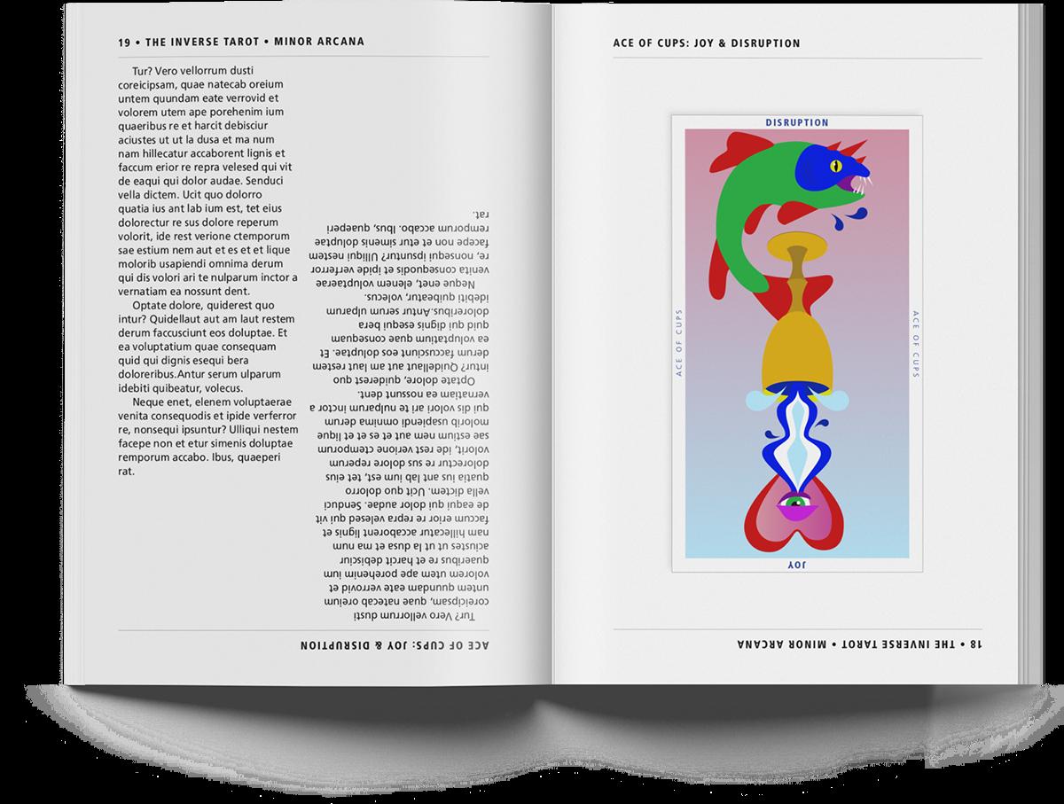 Cards, Packaging, & Book Design: The Inverse Tarot on Behance