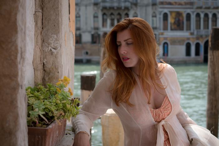 lori patrick portrait Venice Italy headshot Beauty Portrait