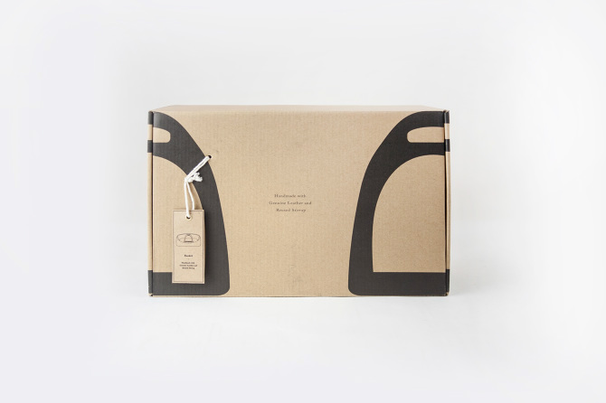 package packing upcycling eco leather metal