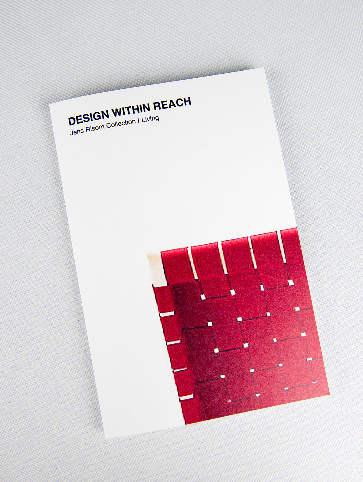 brochure mailer for design within reach on behance