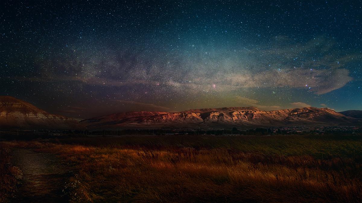 dreamy night sky on behance