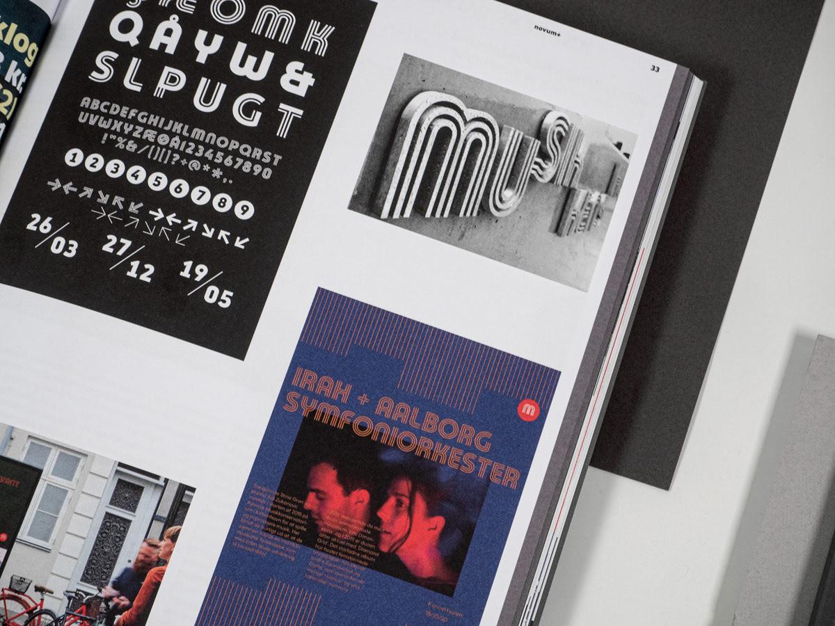 branding  fonts Hot Foil Moving Type