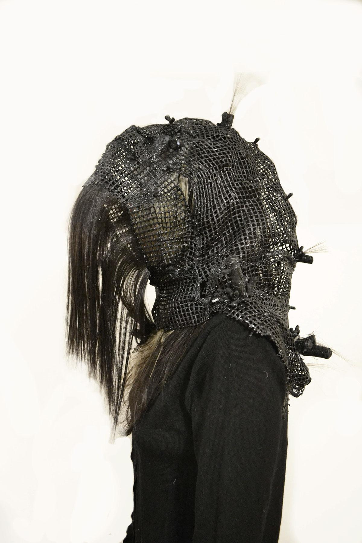 sculptor headwear varaform dark misunderstood creature costume identity human hidden