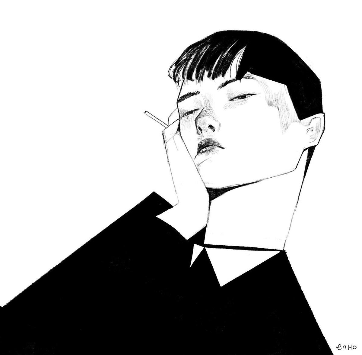 portrait Drawing  ILLUSTRATION